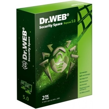 Dr.Web Security Space 5.00.1.10191